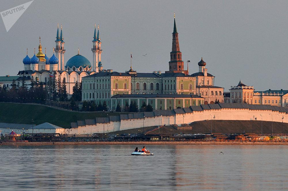 Kazán, la capital de la república rusa de Tartaristán