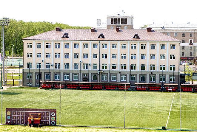 Las instalaciones del equipo ruso Rubin Kazán