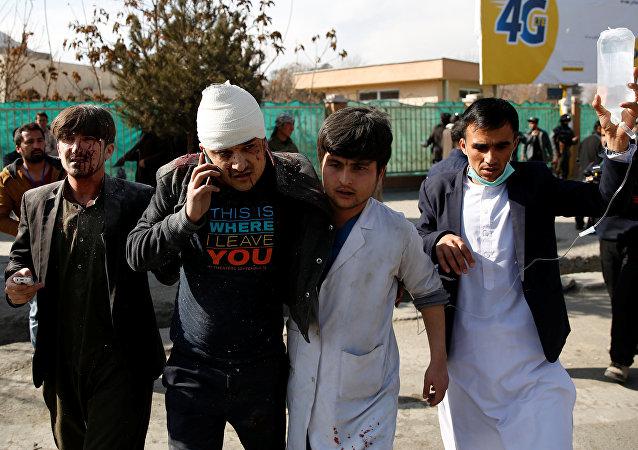 Atentado en barrio diplomático de Kabul