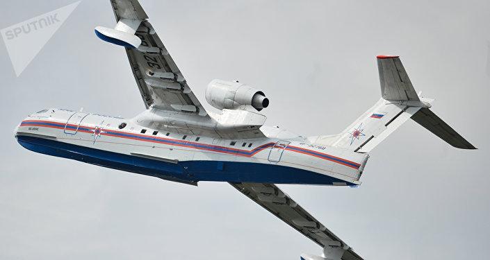 Avión anfibio ruso Be-200
