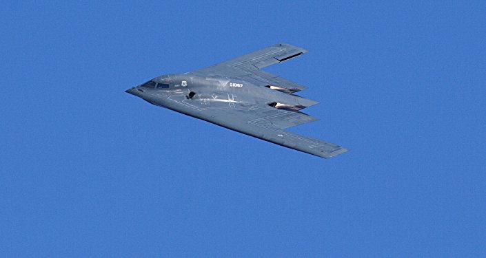 El bombardero estratégico B-2 Spirit