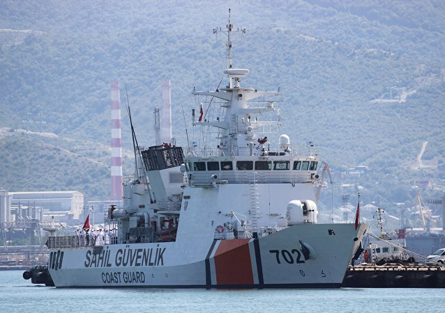 Un buque de la guardia costera de Turquía (imagen referencial)