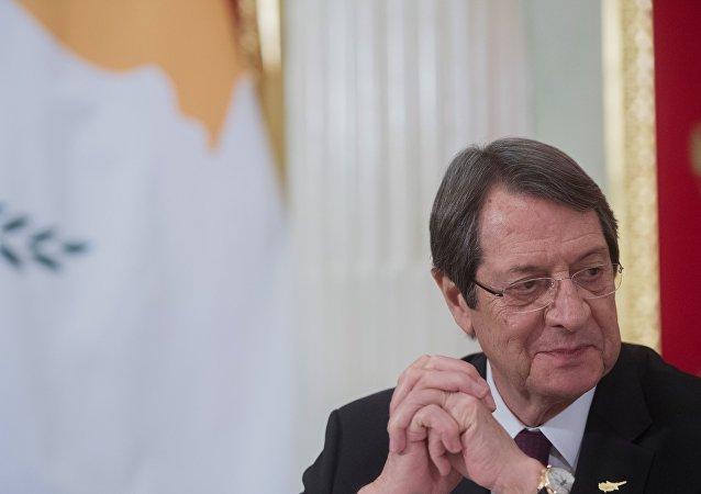 Presidente de la República de Chipre, Nikos Anastasiadis