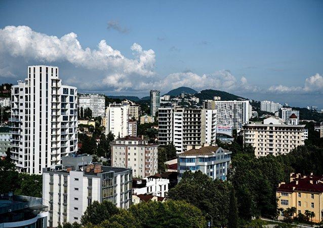 La ciudad de Sochi, Rusia