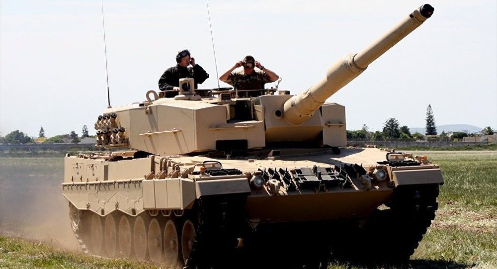 Tanque Leopard 2A4