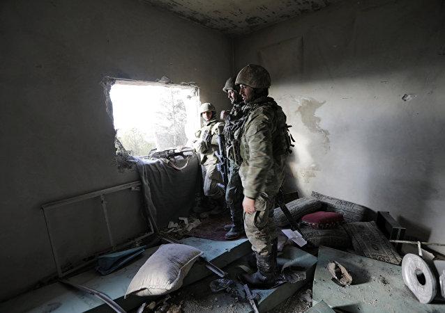 Ejército turco en Afrín