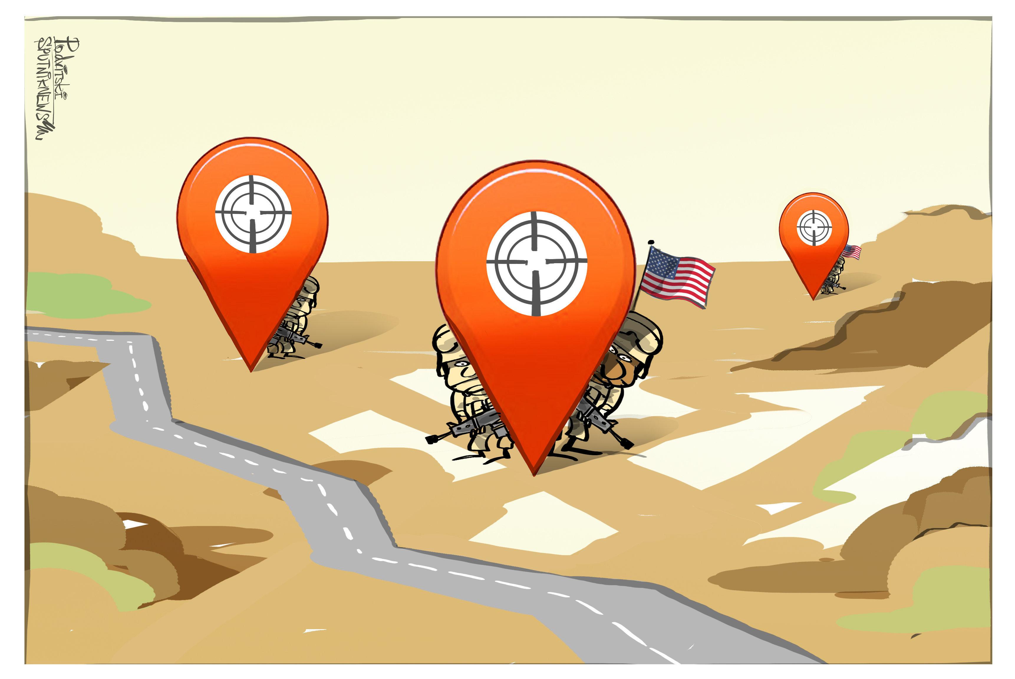 Сuando las bases militares de EEUU dejan de ser un secreto