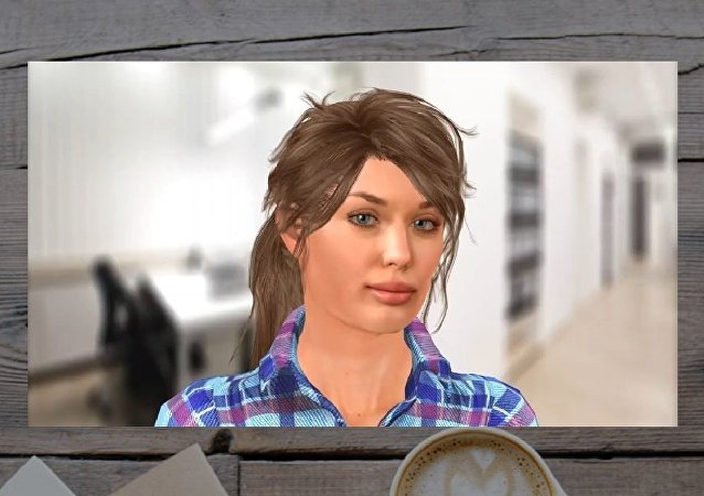 La imágen de Vera, una robot agente de empleo