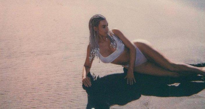 Kim Kardashian, celebridad estadounidense