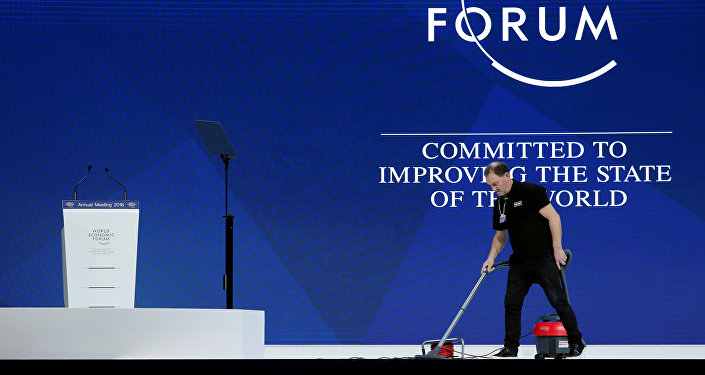 La preparación para el Foro Económico Mundial en Davos
