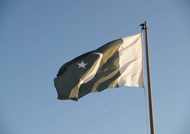 La bandera de Pakistán (imagen referencial)