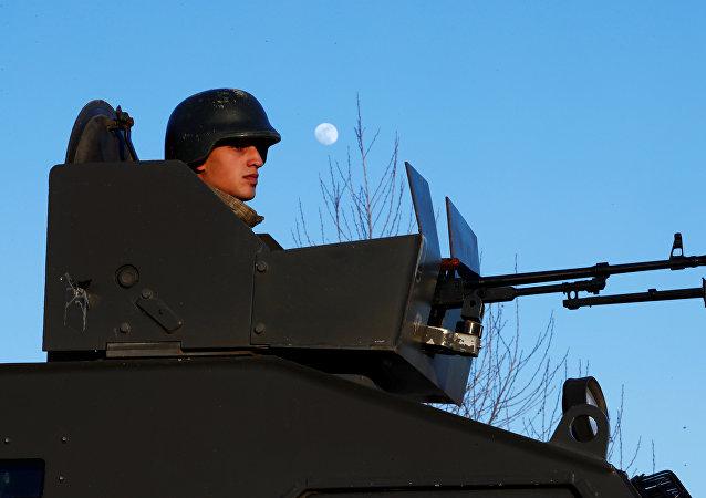 Un militar turco (imagen referencial)