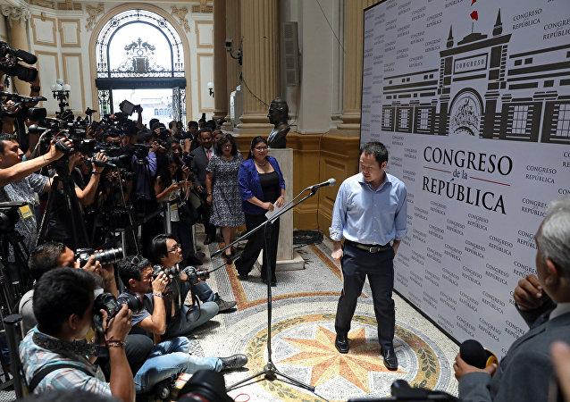 Kenji Fujimori, hijo del expresidente Alberto Fujimori