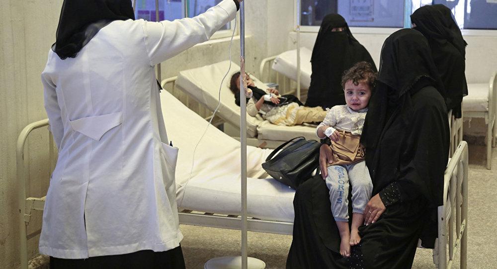 Un hospital en Saná, la capital de Yemen