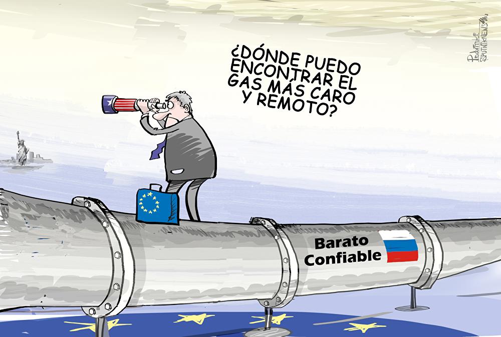 El 'mal negocio' de los contrarios al gasoducto Nord Stream 2