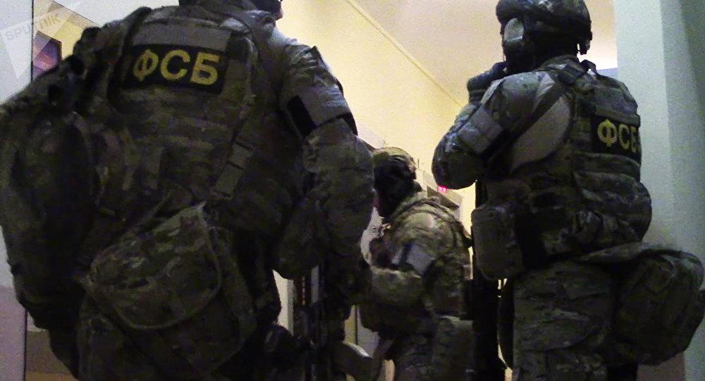 Los agentes del Servicio Federal de Seguridad (FSB) (archivo)