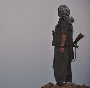 Una guerrillera del PKK (imagen referencial)