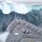 Una gran ola 'engulle' un buque de Nueva Zelanda