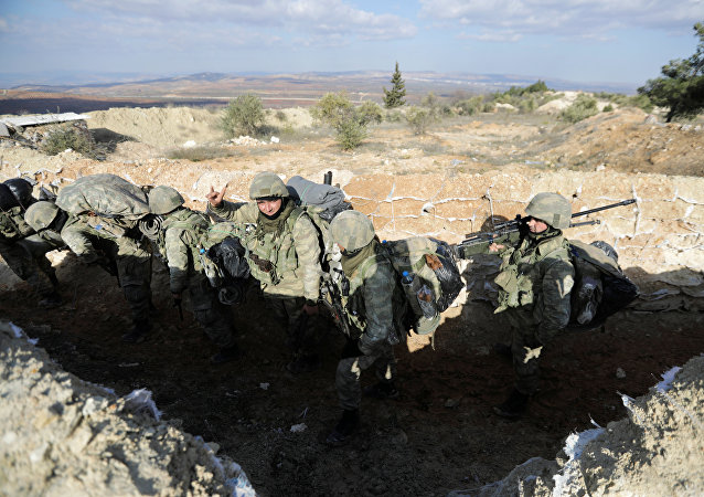 Ejército de Turquía en Afrín