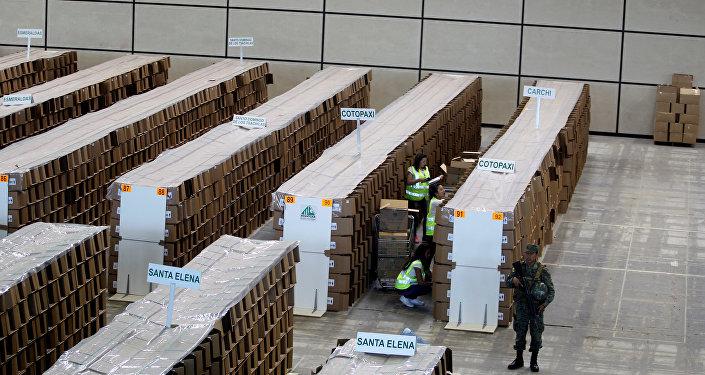 Preparaciones para el referéndum del 4 de febrero en Ecuador