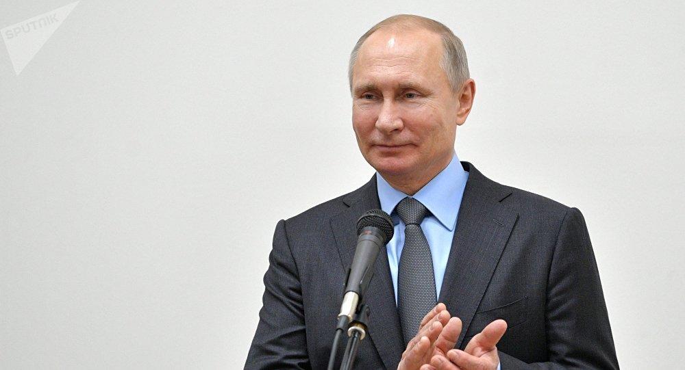 Vladímir Putin, el presidente de Rusia (archivo)