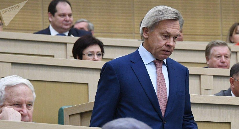Alexéi Pushkov, senador ruso
