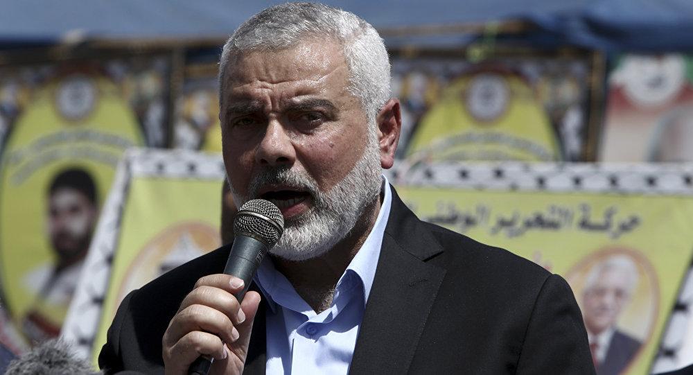 Ismail Haniyeh, líder del movimiento Hamás (archivo)