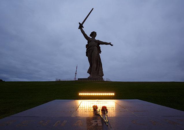 Ciudad rusa de Volgogrado