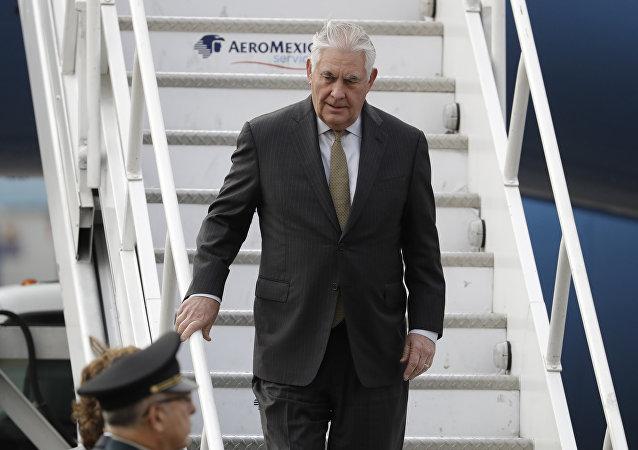 Rex Tillerson, secretario de Estado de EEUU
