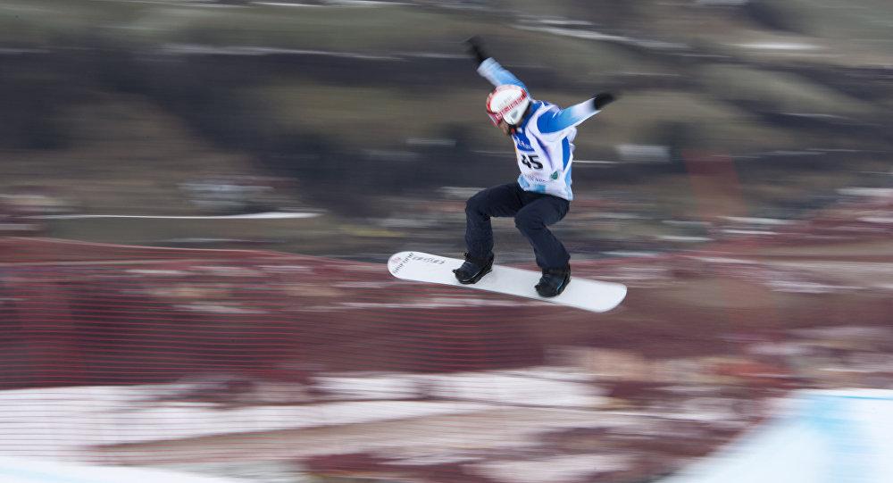 Steven Williams, el atleta argentino de snowboard cross