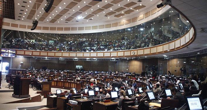 La Asamblea Nacional de Ecuador (archivo)
