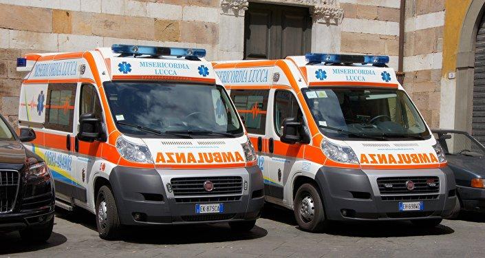 Ambulancia italiana (imagen referencial)