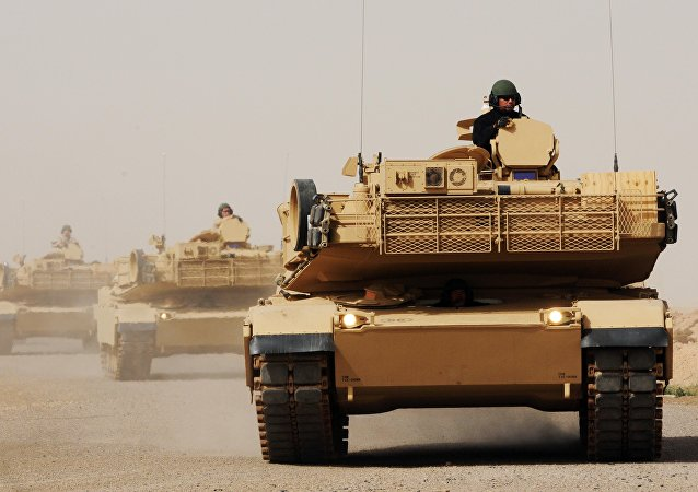 Tanques M1A1 Abrams en Irak