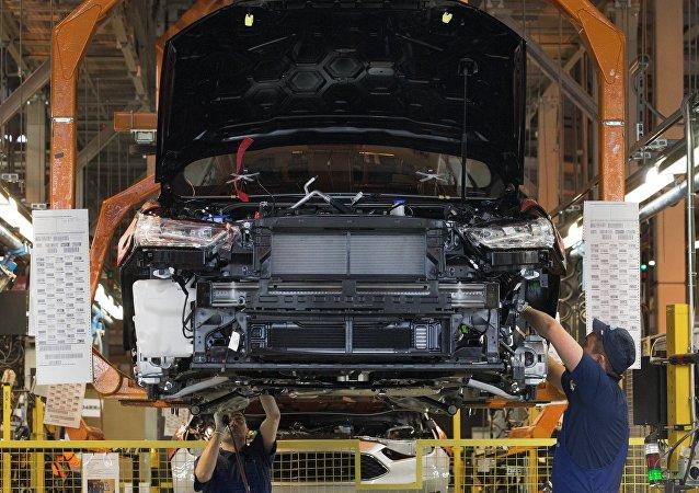 Una planta de Ford (imagen referencial)