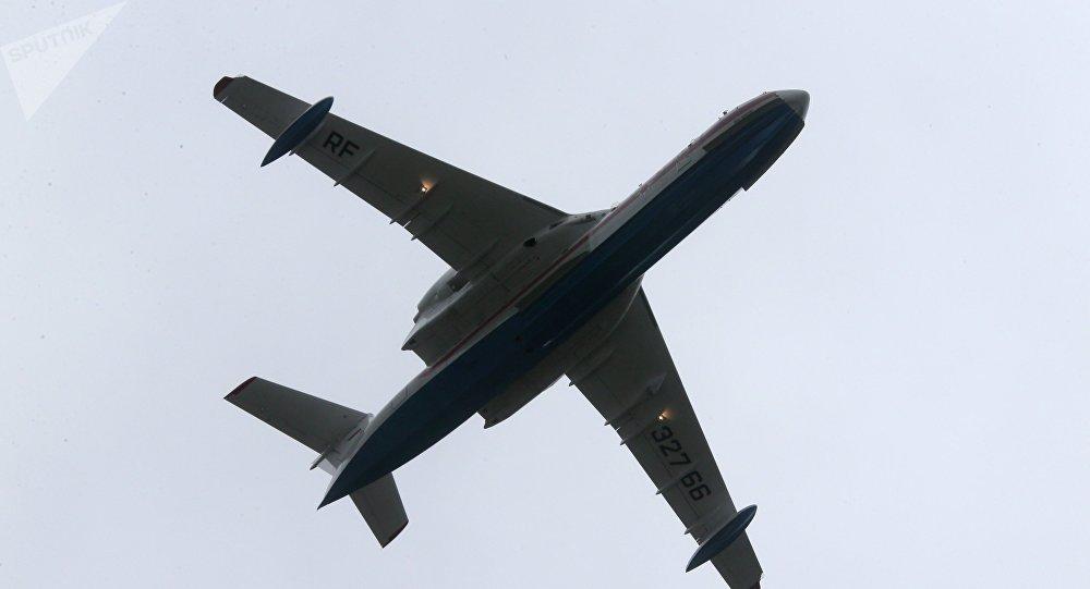 El avión Be-200 (imagen referencial)