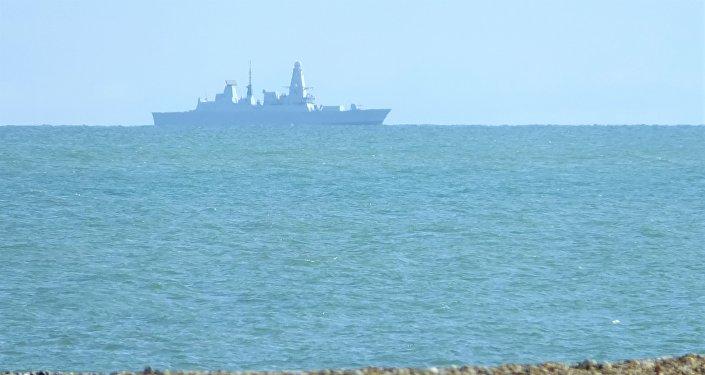 El destructor británico HMS Duncan