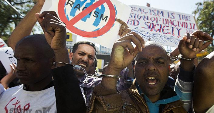 Protesta de los refugiados africanos en Israel