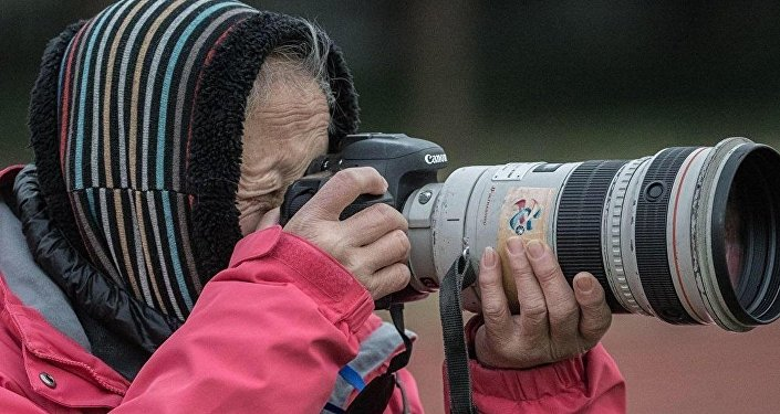 La veterana fotógrafa china Hong Nanli