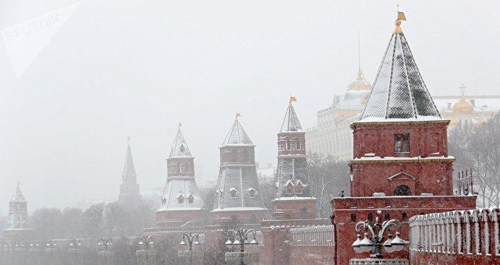 Una persona muerta por la peor tormenta de nieve registrada en Moscú