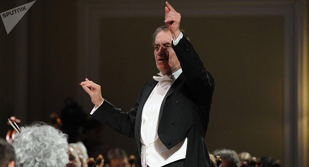 Valeri Guérguiev, dirigente de la Orquesta Sinfónica del Teatro Mariinski