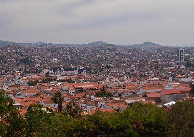 Sucre, la capital de Bolivia