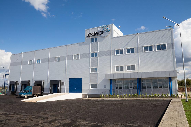 El recinto de la fábrica Tecleor
