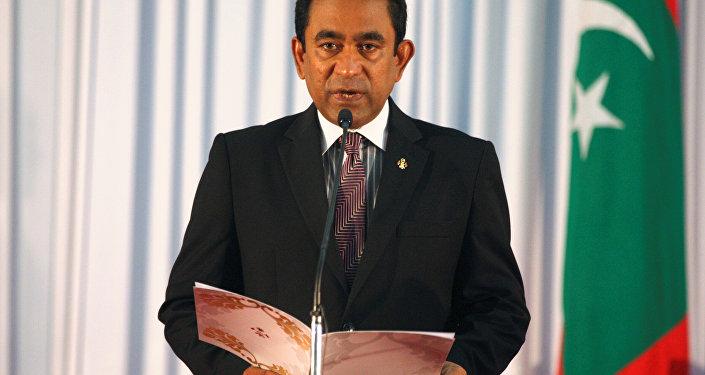 Estado de excepción de las Maldivas declarado por el gobierno