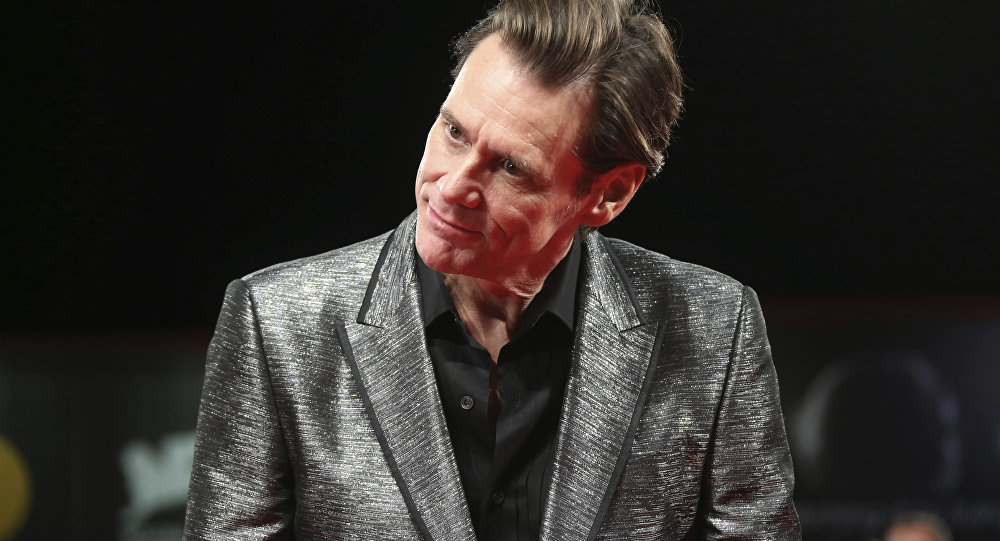 Jim Carrey, actor canadiense-estadounidense