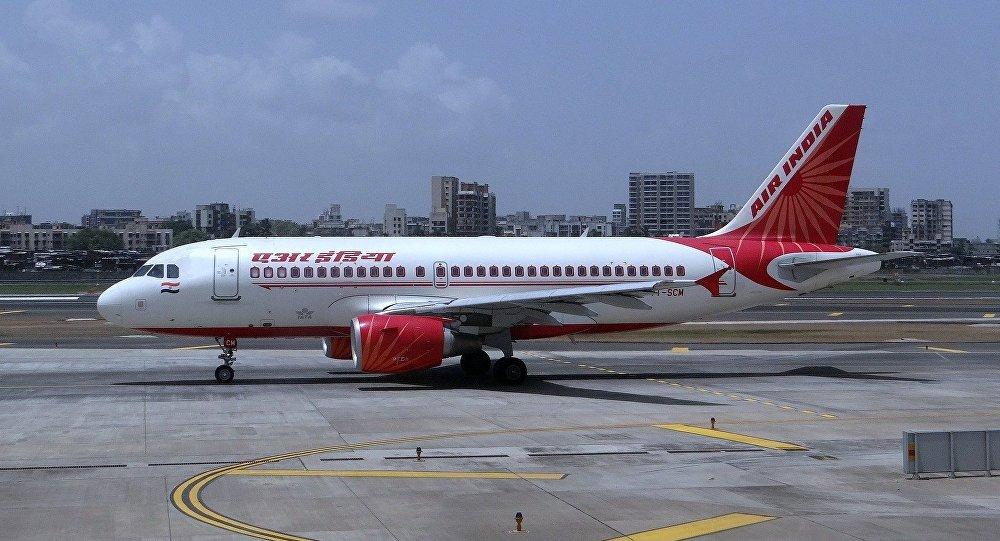 Un avión de Air India