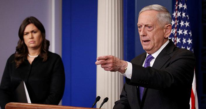 James Mattis, el secretario de Defensa de EEUU