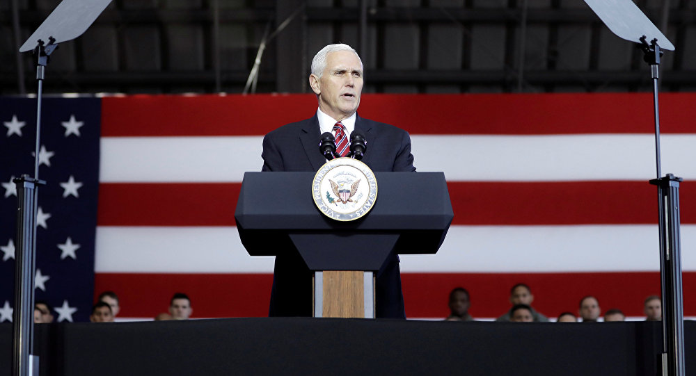 Mike Pence, el vicepresidente de Estados Unidos