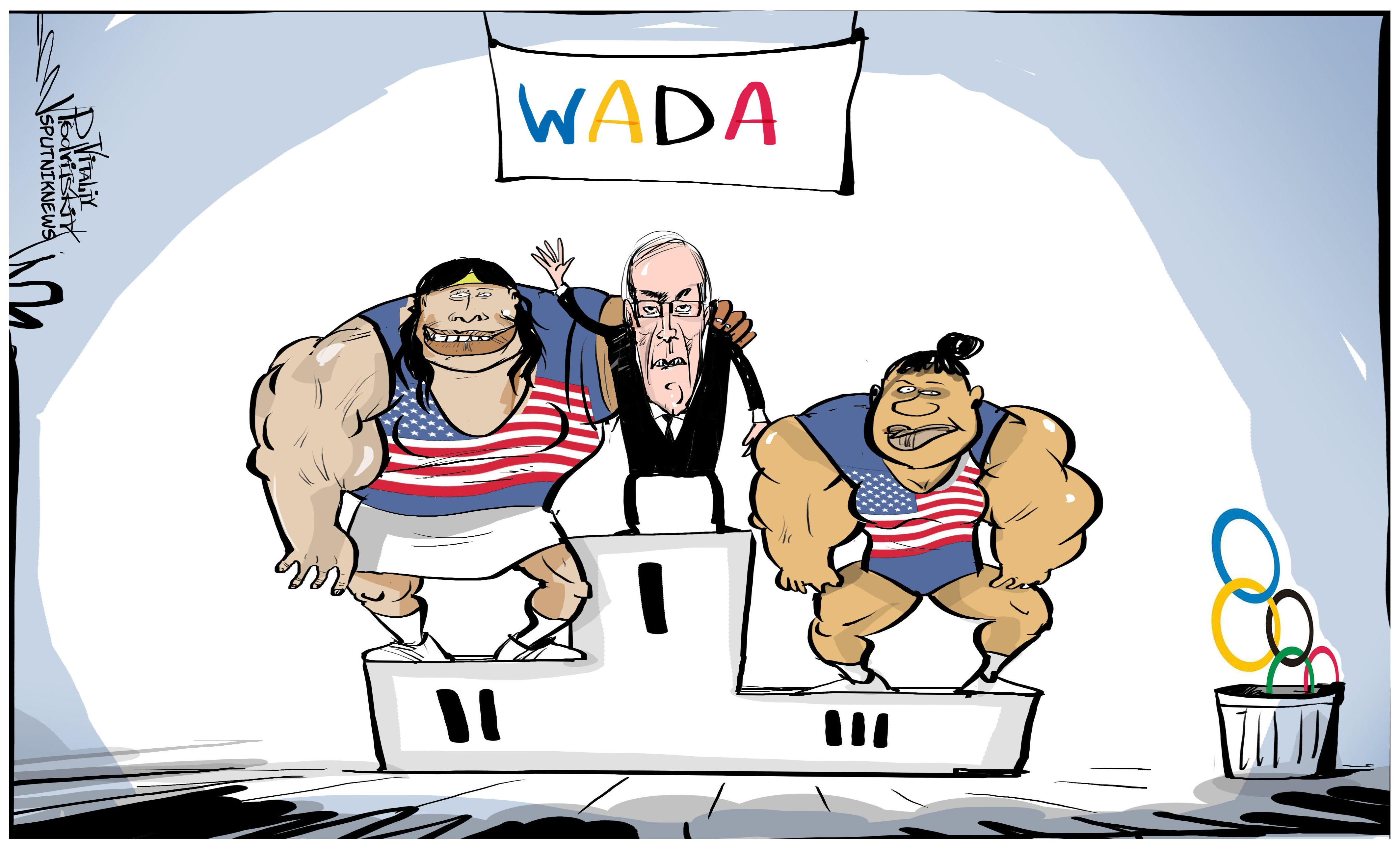 La WADA ocupa el primer lugar del podio en las olimpiadas de la hipocresía