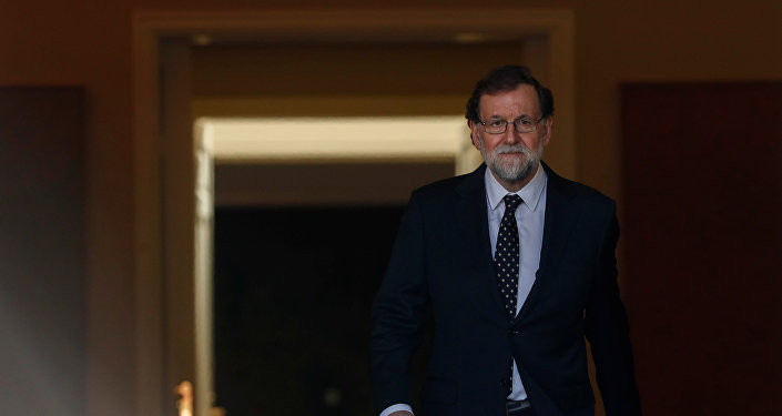 Mariano Rajoy, presidente del Gobierno español