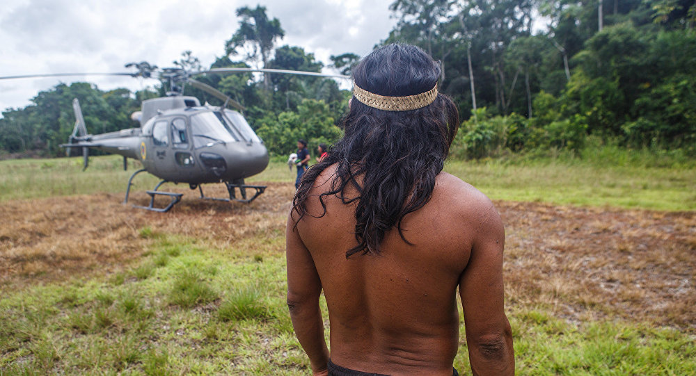 Indígenas de Amazonia
